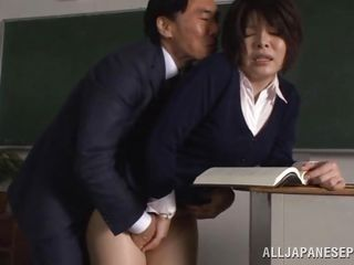 horny teacher needs sex in the classroom