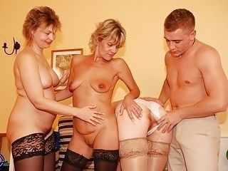 Taboo sex with three mothers and lucky son