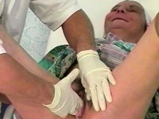 hairy granny rough fisted by a doctor