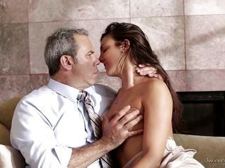 lusty tommi plays dirty with older guy @ mother daughter affair