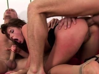 Naked woman Crystalis enjoys every second